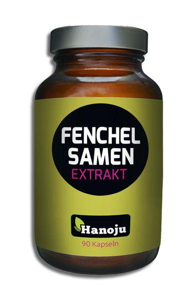 NL Fenchelsamen Extrakt, 400mg, 90 Kapseln