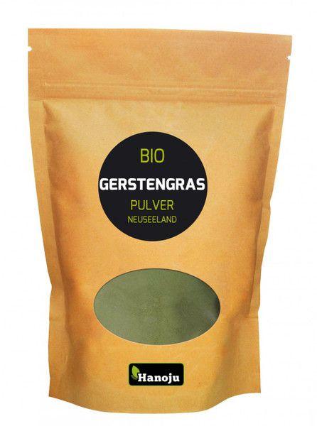 Bio Gerstengras Pulver aus Neuseeland 200 g im Glasflacon