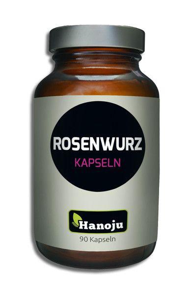 NL Rhodiola Rosea Rosenwurz mit 3 % Rosavin, 400mg, 90 Kapseln
