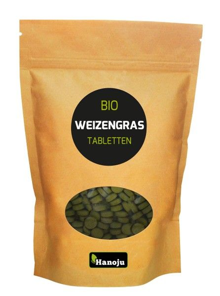NL Bio Weizengras 500 Tabletten, 500 mg