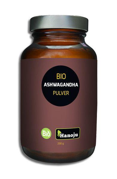Bio Ashwagandha Pulver 200 g