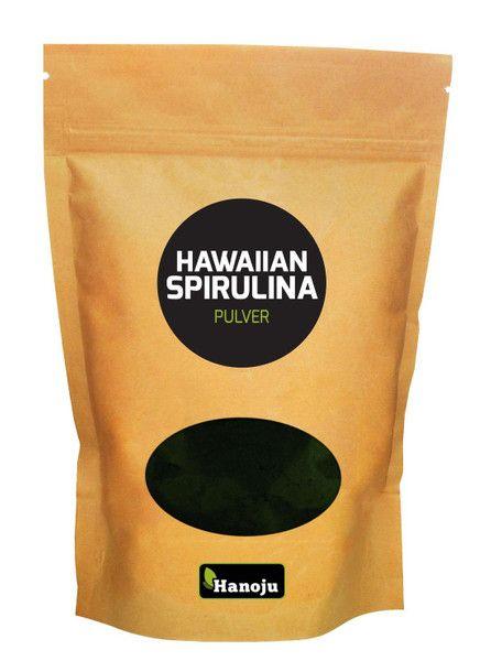 Hawaiian Spirulina Pulver 500 g im Zip Beutel