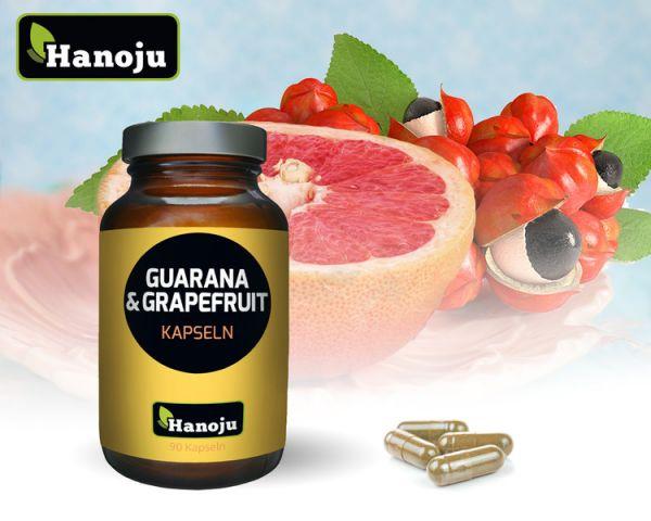 Grapefruit + Guarana  450 mg, 90 capsules