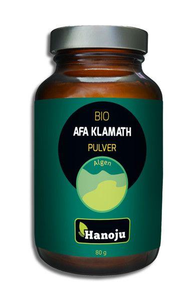 Bio AFA-Klamath (USDA) Algen Pulver, 80g