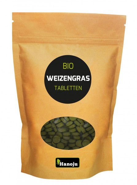 NL Bio Weizengras, 1000 Tabletten, 500 mg