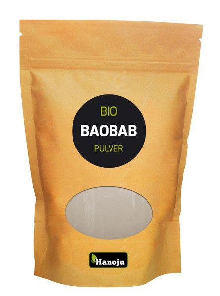 NL Bio Baobab Pulver 500g im Paperbag