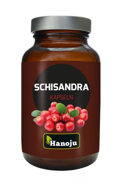 Schisandra Extrakt 400 mg, 90 Kapseln