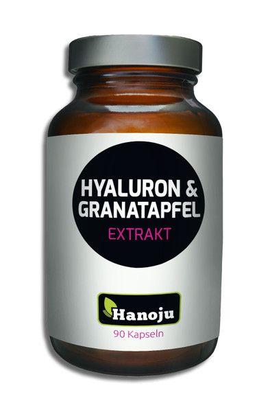 NL Hyaluronsäure + Granatapfelextrakt, 450 mg, 90 Kapseln