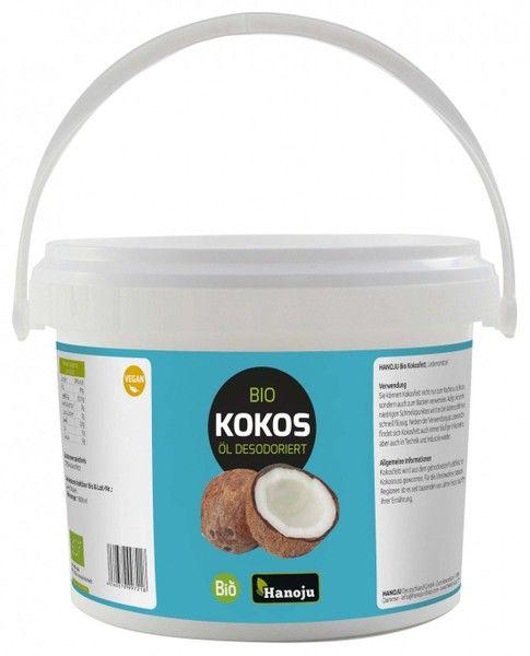 Bio Kokosöl, desodoriert 5 Liter im Eimer