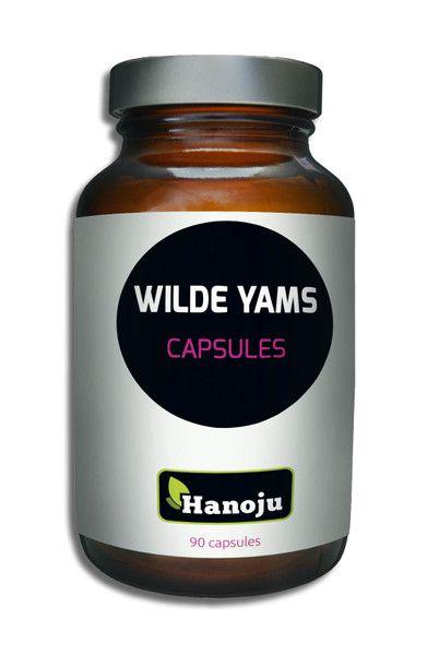 NL Wild Yams Extrakt, 500mg, 90 Kapseln