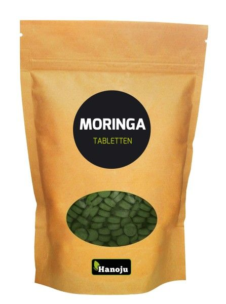 Moringa Ganzblattpulver 500 mg, 1000 Tabletten