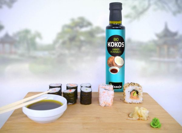 Bio Kokos Aminosäuren Würzsauce 250ml