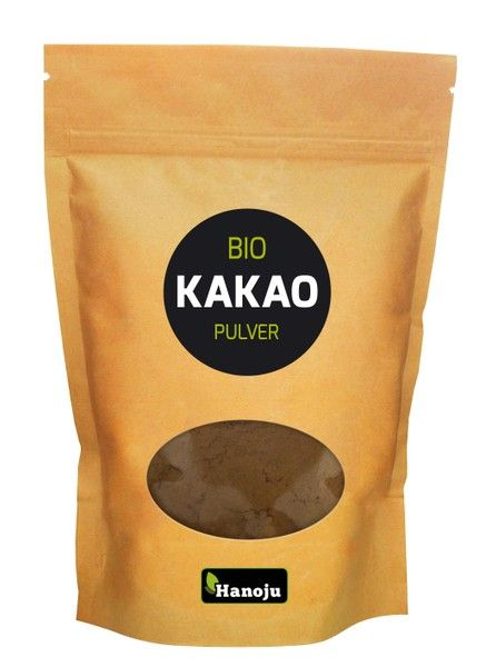 Bio Kakaopulver, stark entölt, alkalisiert, 500 g