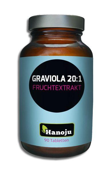 Graviola Fruchtextrakt 20:1 450 mg, 90 Tabletten