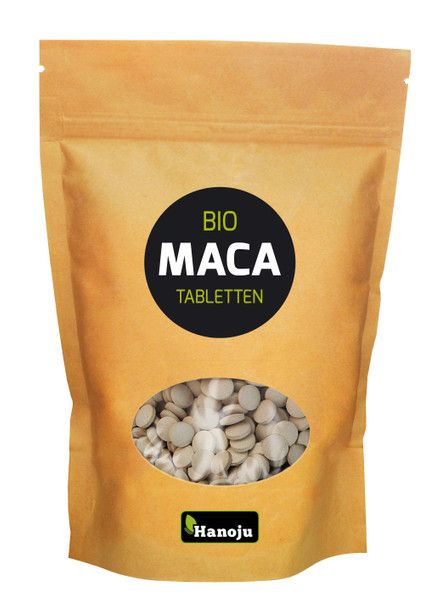 NL BIO MACA Premium, 500 Tabletten, 500 mg