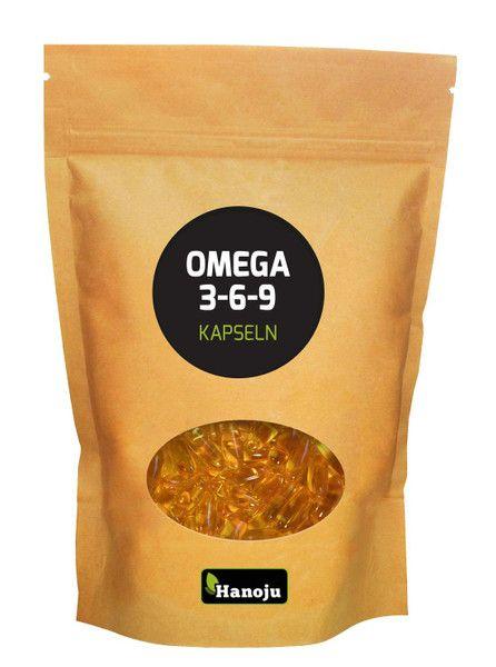 Omega 3-6-9, 1000 mg, 500 capsules
