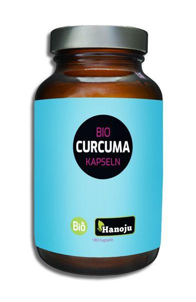 Biologische Curcuma Poeder 400 mg, 180 capsules