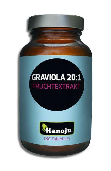 Graviola Fruchtextrakt 20:1 450 mg, 180 Tabletten