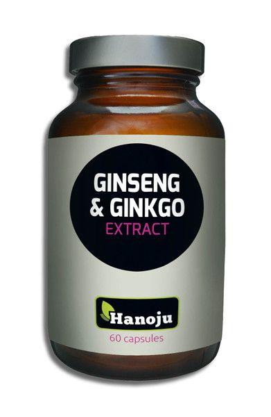 NL Ginseng Extrakt 300 mg + Ginkgo Extrakt 200 mg, 60 Kapseln