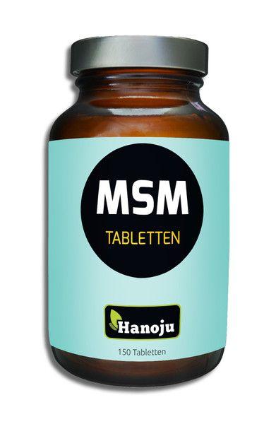 MSM Tabletten 750 mg im Flacon 150 Tabletten