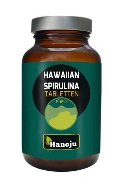 Hawaiian Spirulina 500 mg, 250 Tabletten