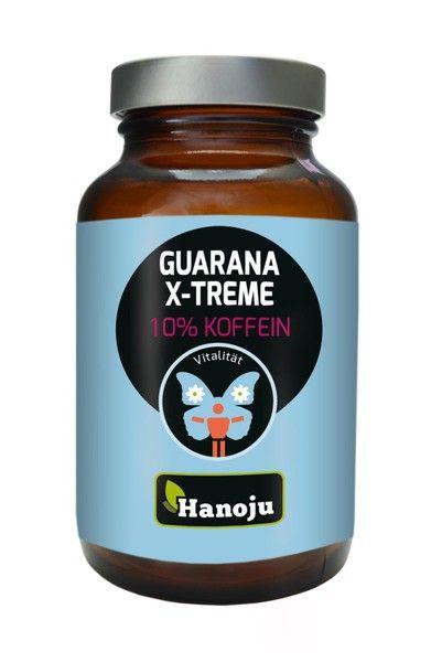 Guarana Xtreme mit 10% Koffein 400 mg 90 vegetarisch