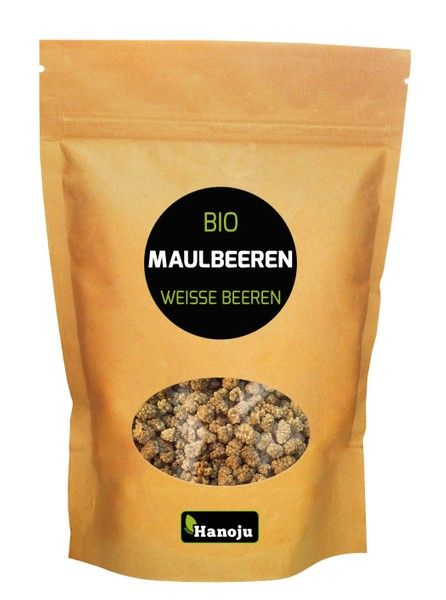 NL Weisse Bio Maulbeeren, 1000g im Paperbag