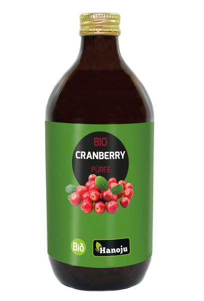 Bio Cranberry Püree 0,5 l