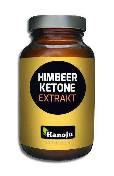 Himbeer Ketone 98% 400 mg, 90 Tabletten