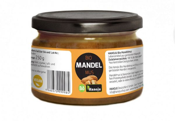 Bio Mandelmus 250 g