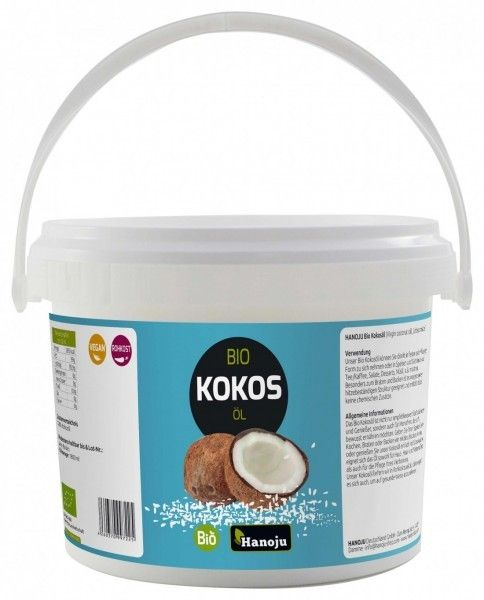 Bio Kokosöl (Virgin coconut oil) 10L im Eimer