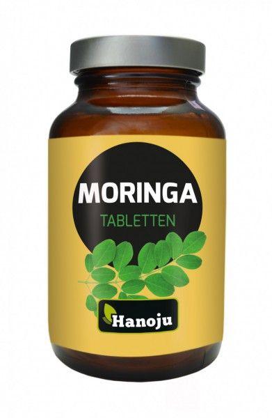 Moringa Ganzblattpulver 500 mg, 180 Tabletten