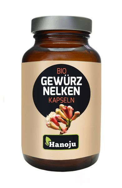 NL Bio Gewürznelkenpulver 500 mg, 180 Kapseln