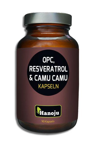 NL OPC + Resveratrol + Bio Camu Camu, 500 mg, 90 Kapseln