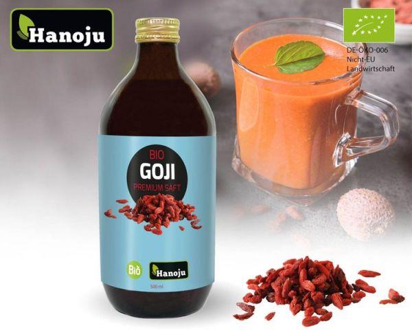 NL Bio Goji Premium 100% Saft, 500ml