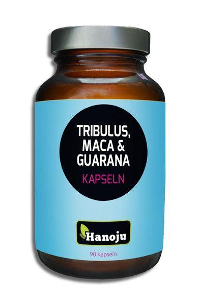 Tribulus + Maca + Guarana 500 mg, 90  Kapseln