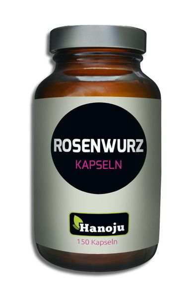 NL Rhodiola Rosea Rosenwurz 400 mg mit 3 % Rosavin, 180 Kapseln
