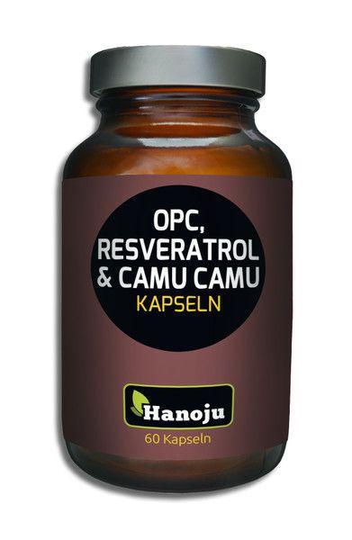NL OPC + Resveratrol + Bio Camu Camu, 500 mg, 60 Kapseln