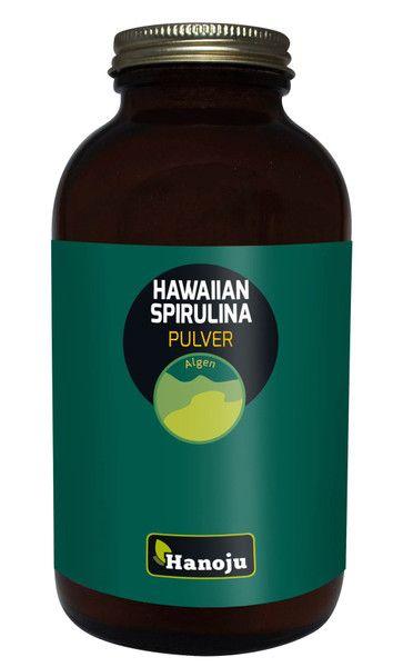 Hawaiian Spirulina Pulver 300 g im Braunglas