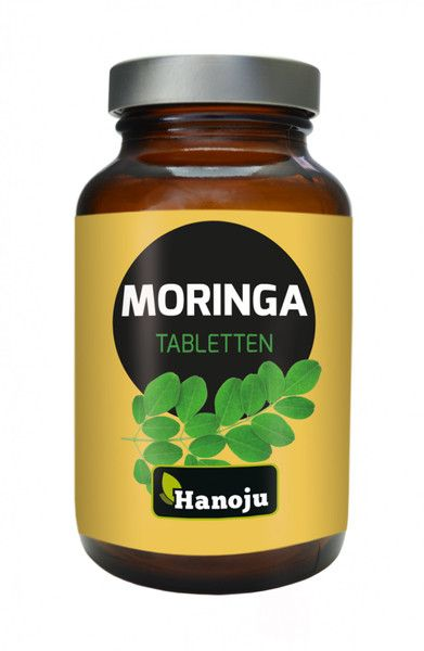 Moringa Ganzblattpulver 500 mg, 250 Tabletten
