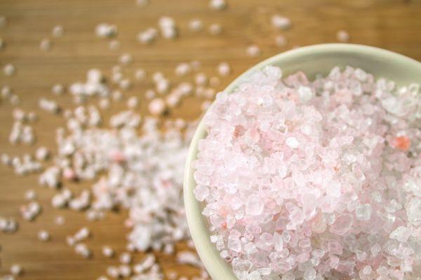 Salzkristall-granuliert Himalaya 1000g Körnung 1-3mm